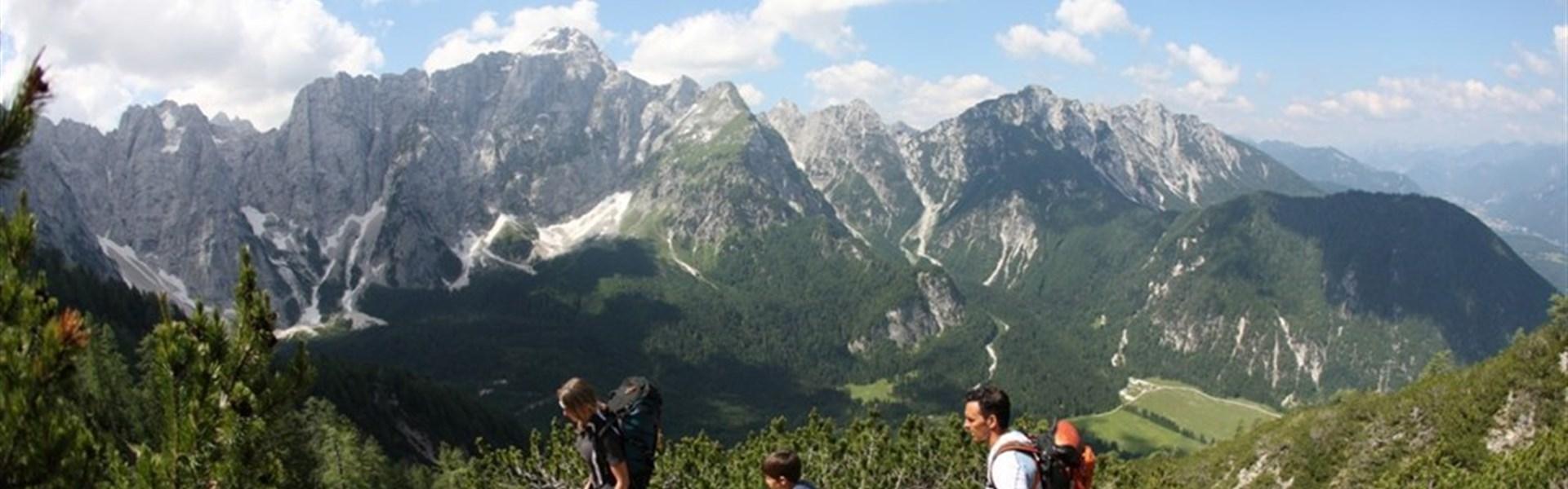 Sella Nevea / Kanin - letní Alpy