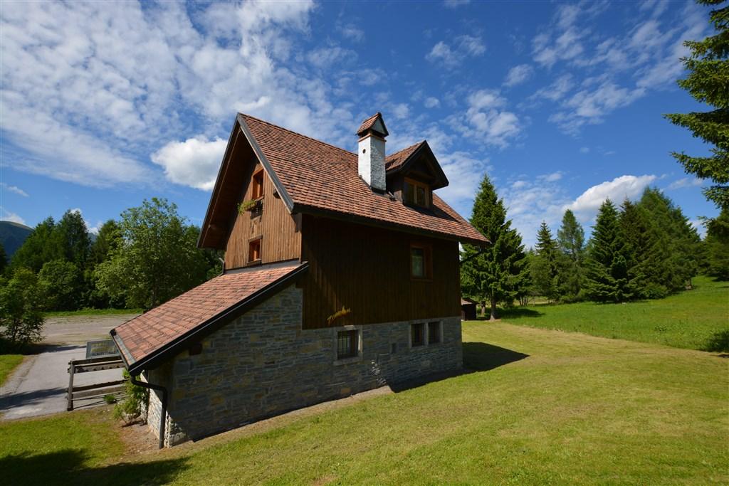APARTMÁNOVÝ DŮM STALI DI MODESTO - Zoncolan / Ravascletto - letní Alpy