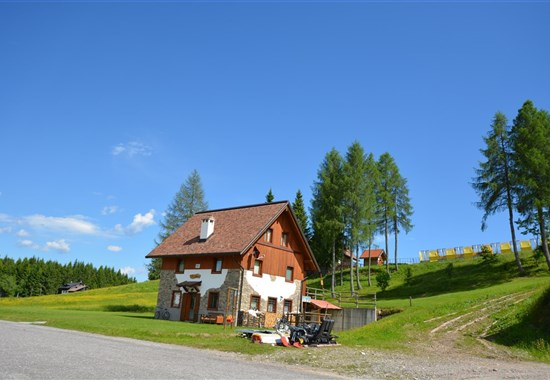 APARTMÁNOVÝ DŮM STALI DI LAUSC - léto - Zoncolan / Ravascletto - letní Alpy