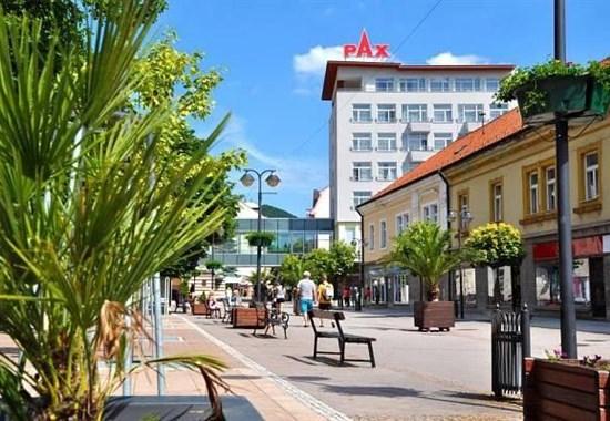 Trenčianské Teplice Hotel PAX lázně autobusem -